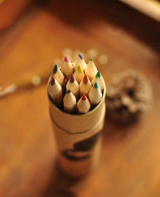 Hộp bút đẹp vintage