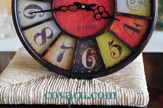 Đồng hồ vintage treo tường độc đáo