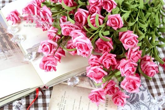 Hoa hồng xốp đẹp