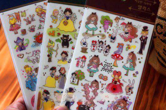 Sticker trang trí đồ handmade