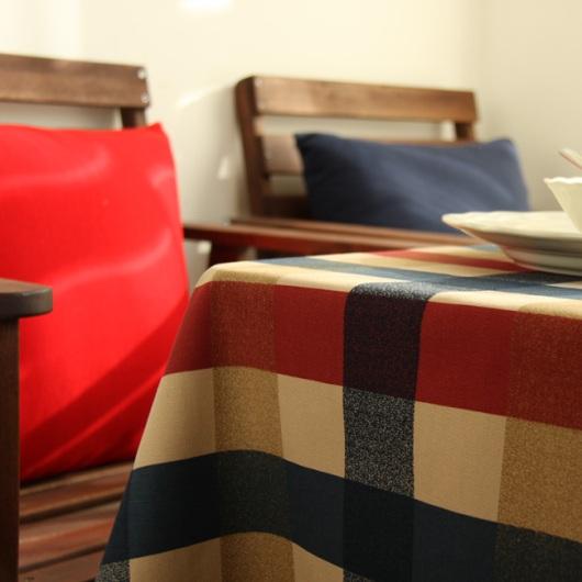 Vải caro đẹp để trang trí quán, phòng