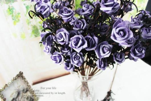 Bông hồng giả dễ thương