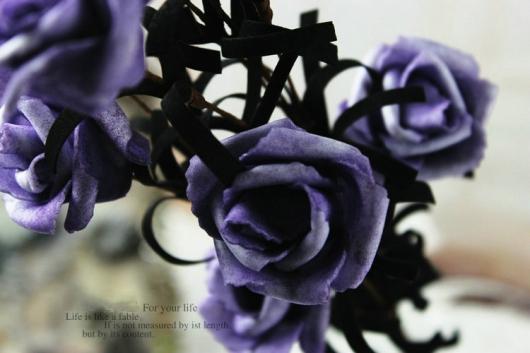 Bán bông hồng giả đẹp