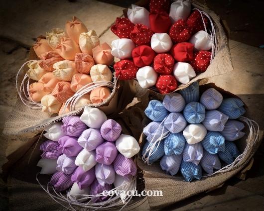 Bán hoa vải đẹp giá rẻ