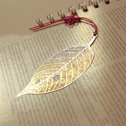gân lá khô làm handmade