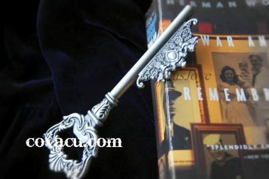 Chìa khóa giả bạc vintage độc đáo