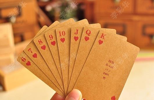 Bộ bài poker vintage độc đáo