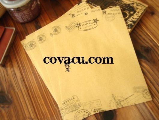 Bán giấy viết thư hoa vawnn vintage đẹp