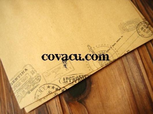Giấy viết thư dấu vintage hoa văn cổ điển