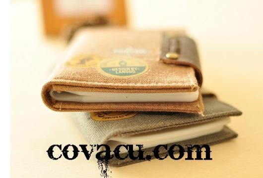 Túi đựng thẻ ATM credit card bằng vải xinh xắn