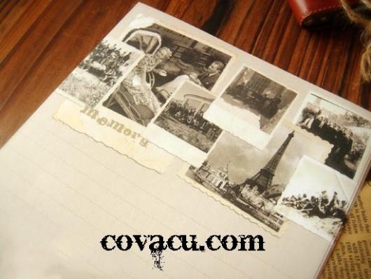 Giấy viết thư vintage