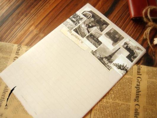 Giấy viết thư tay vintage kiểu cổ đẹp