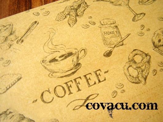 Giấy viết thư Coffee