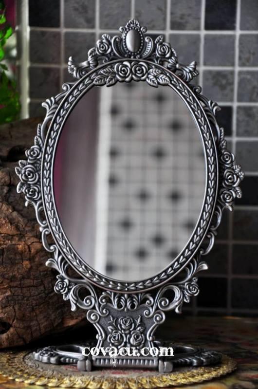 Gương vintage trang trí kiểu cổ