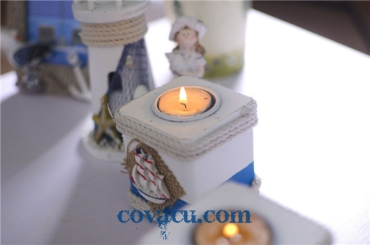 Đèn nến đốt độc đáo
