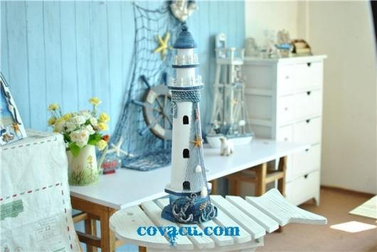Hải đăng trang trí nhà Mediterranean style!