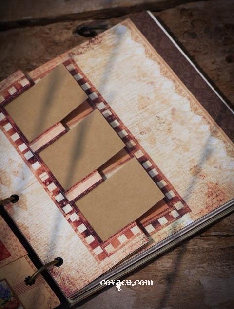 Làm quà handmade tặng bạn với scrapbook