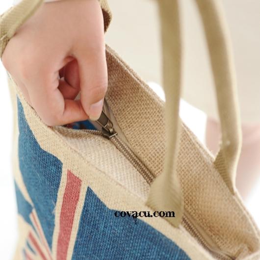 Túi vải bố vintage