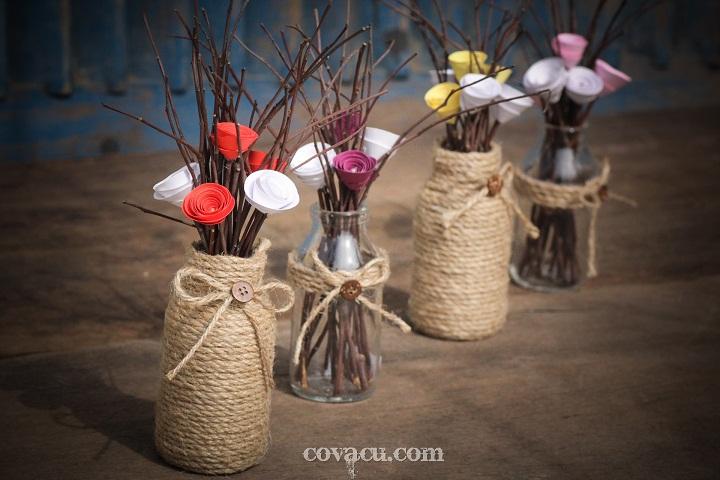 Bán hoa handmade vintage
