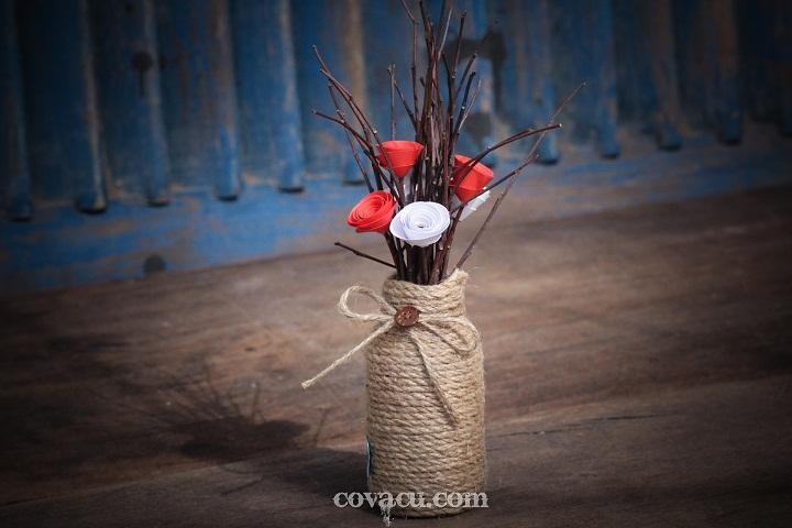 Chậu hoa handmade đẹp