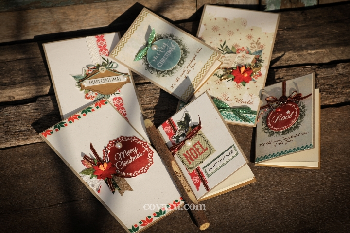 Các mẫu thiệp handmade đẹp Noel