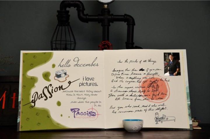 Sổ ký tên đám cưới