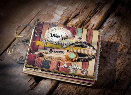 Giấy nền vintage làm scrapbook