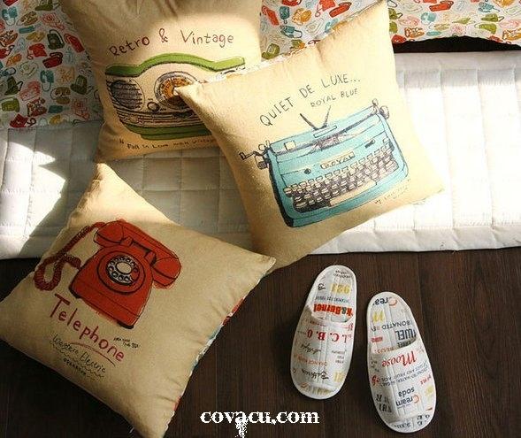 Các mẫu vải đẹp cửa hàng cổ & cũ