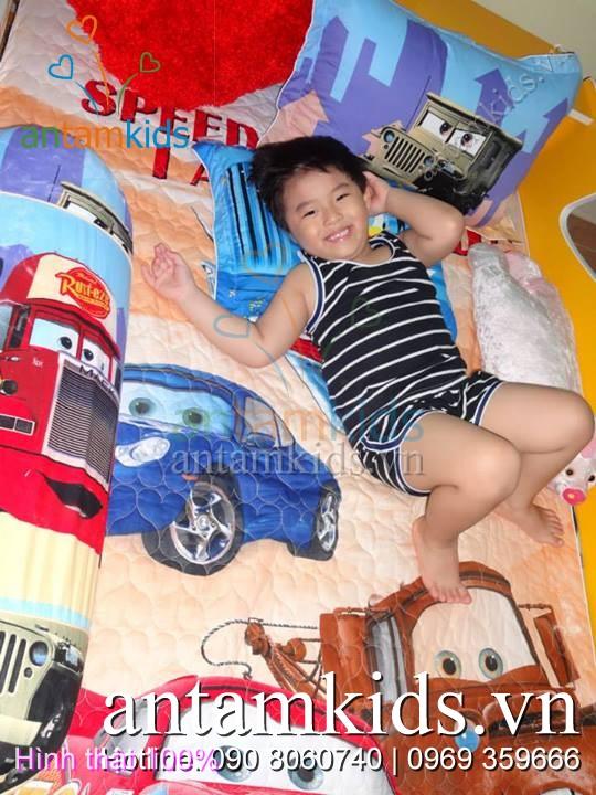 Bộ Mền drap McQueen của con trai mẹ Mai Sương_tp Hồ Chí Minh cực đáng yêu - AnTamKids.vn