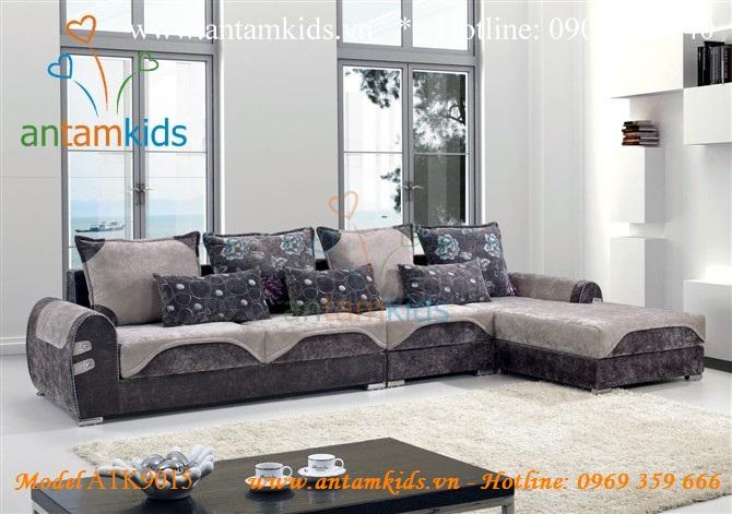 Sofa vải sang trọng hiện đại Antamkids.vn