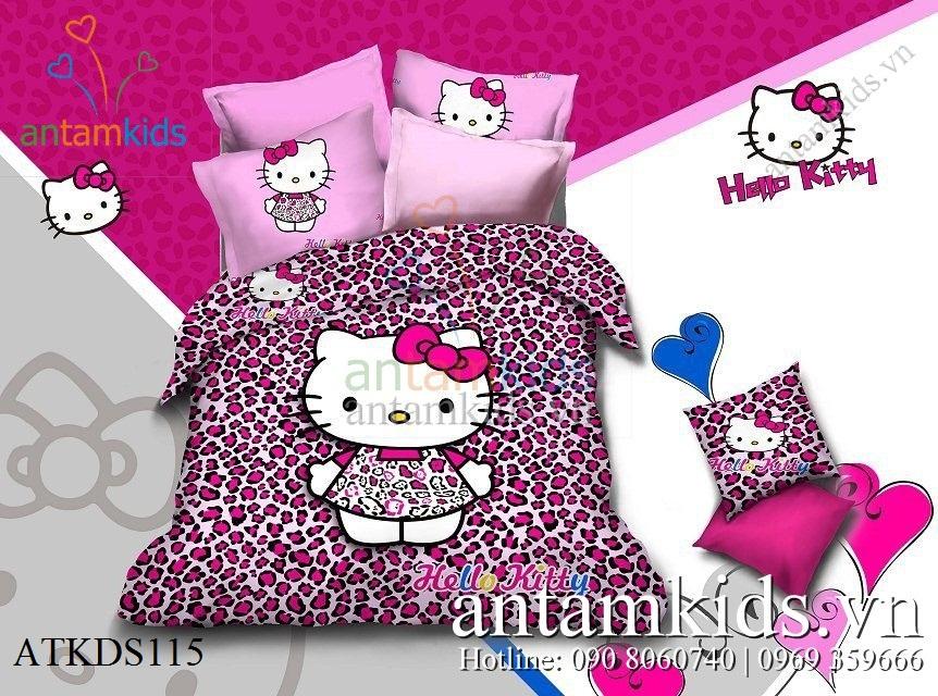 Bo men drap Hello Kitty ATKDS115 - Chan ga goi tre em AnTamKids.vn