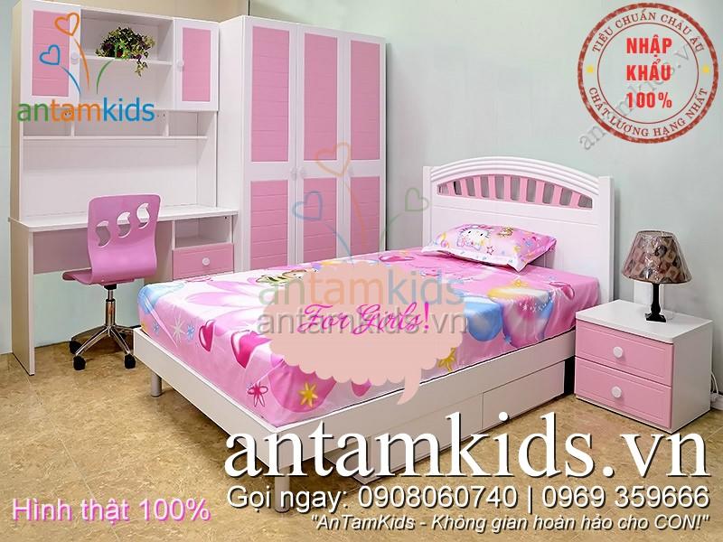 Phòng ngủ cho bé gái  antamkids