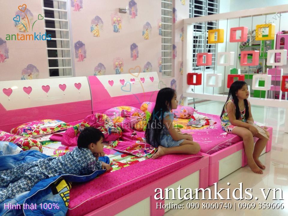 Chăn ga gối drap hoạt hình cho bé trai bé gái - AnTamKids.vn