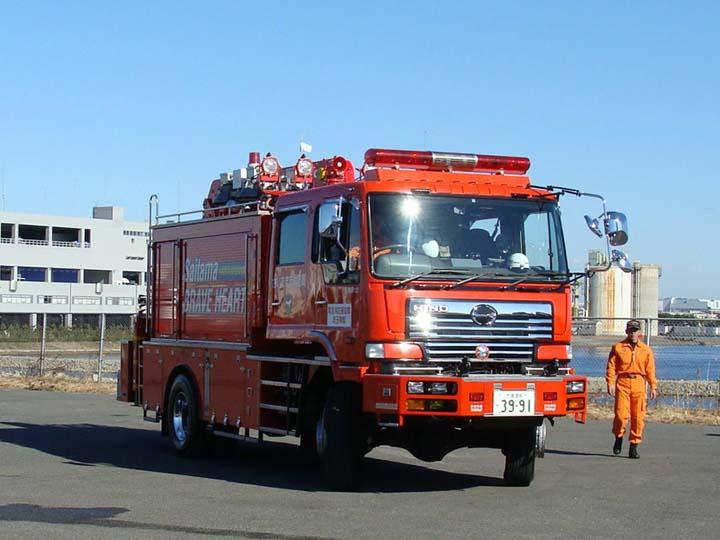 Xe cứu hỏa- Xe cứu hỏa Nhật Bản