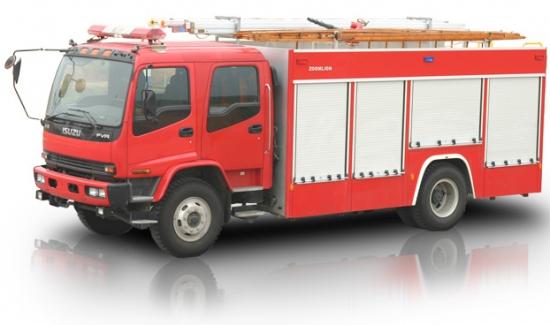 Xe cứu hỏa- Xe cứu hỏa Isuzu