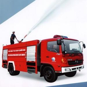Xe cứu hỏa- Xe cứu hỏa Hino