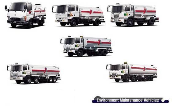 Xe rửa đường- Xe rửa đường Hyundai 3-18 khối