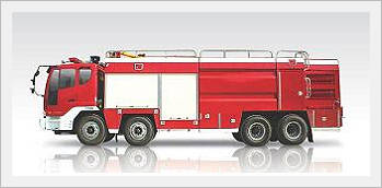 Xe cứu hỏa- Xe cứu hỏa Hyundai nhập khẩu