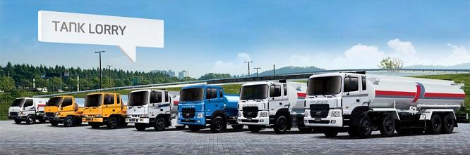 Xe rửa đường- Xe rửa đường Hyundai