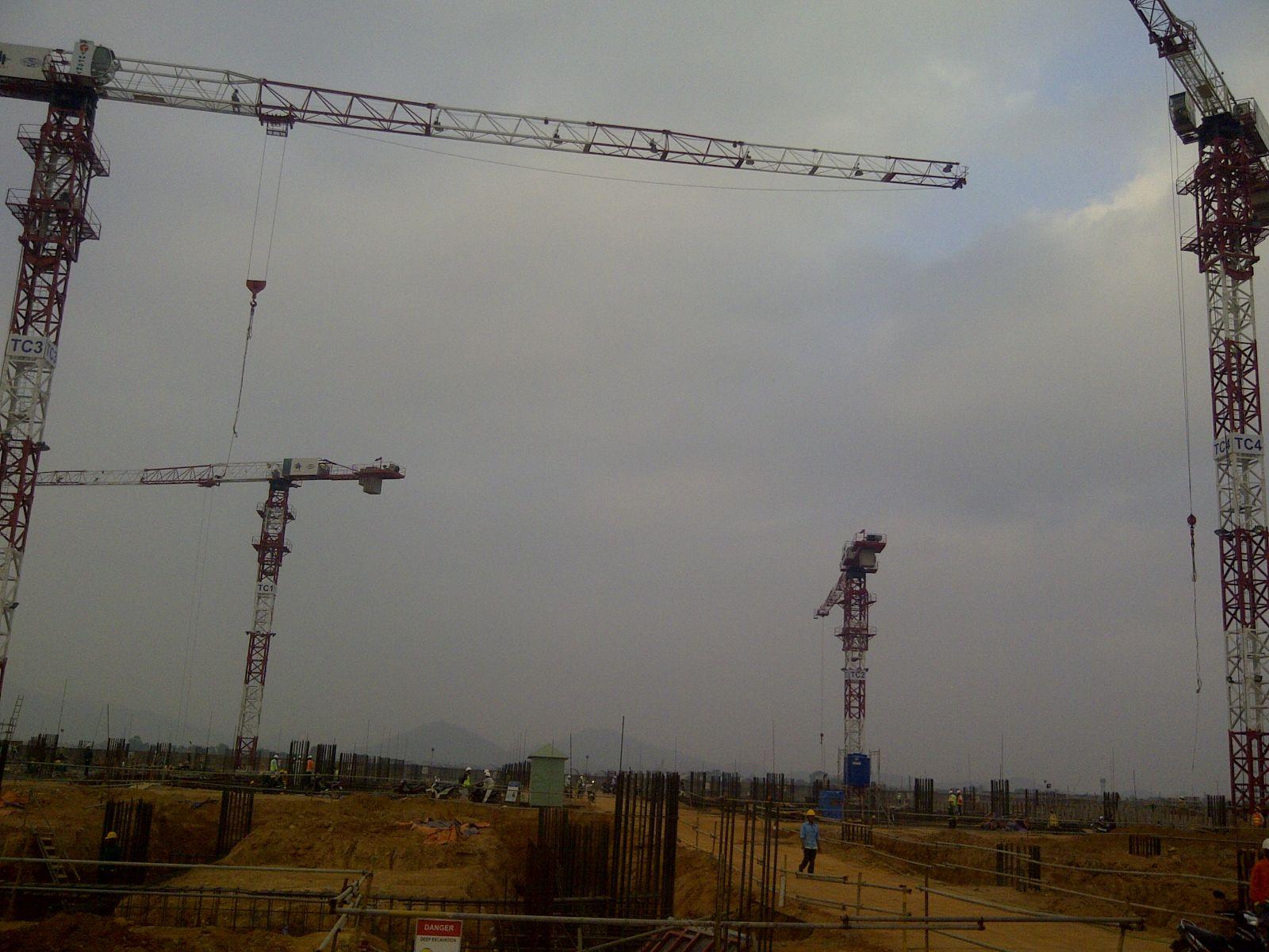Cho thuê cẩu tháp Topsky 6 đến 16 tấn
