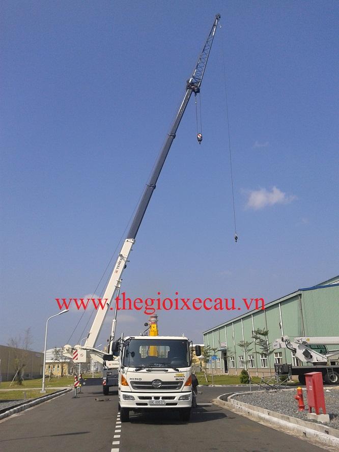 Cung cấp cẩu bánh lốp Terex sức nâng từ 16 đến 200 tấn