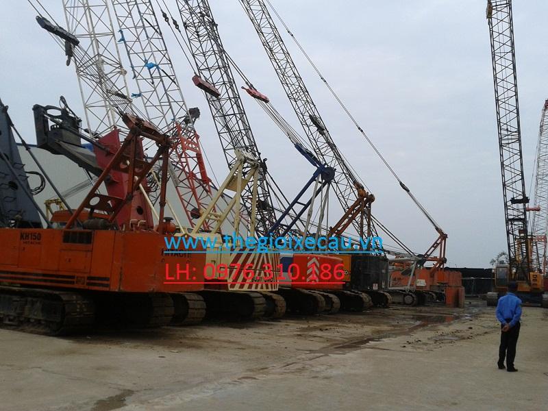 Cho thuê cẩu xích từ 35 tấn đến 300 tấn