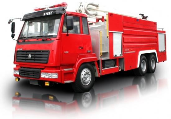 Xe cứu hỏa- Xe cứu hỏa Trung Quốc