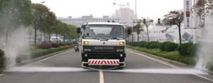 Xe rửa đường- Xe rửa đường Trung Quốc