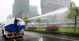 Xe rửa đường- Xe rửa đường Dongfeng
