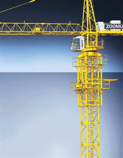 Cho thuê cẩu tháp từ 6 đến 25 tấn