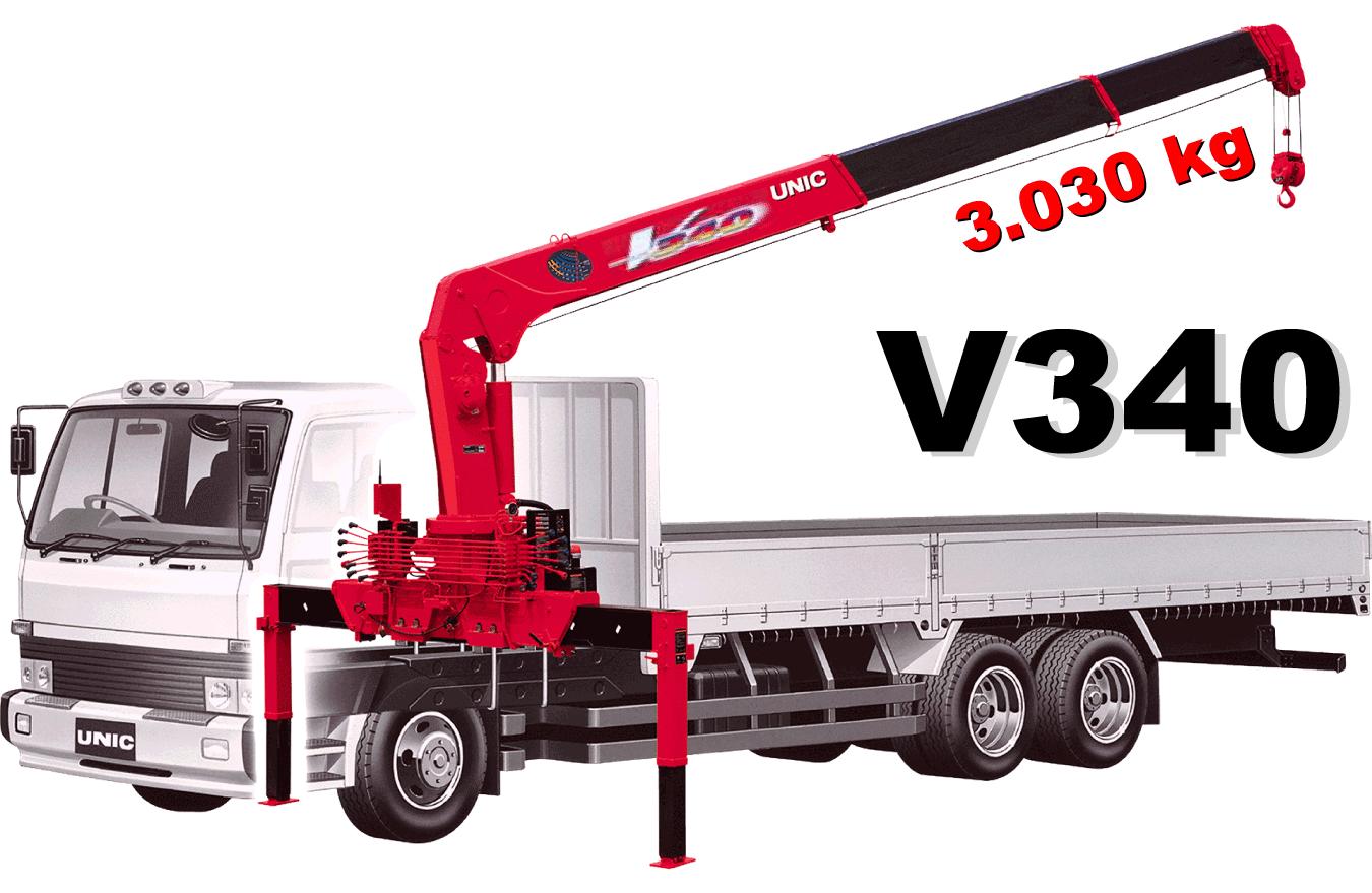 Bán cẩu Unic 3 tấn UR-V340