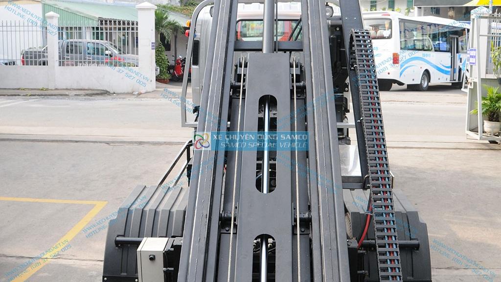 Hệ thống thủy lực xe cứu hộ