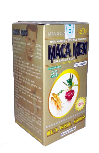 maca men - khoedeptn