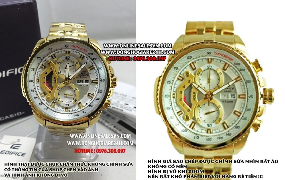 Cảnh báo các shop đồng hồ lừa đảo khách hàng khi dùng hình giả bán hàng